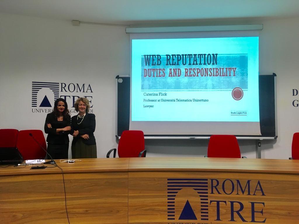 La Web Reputation come tema al centro dell'International and EU Intellectual Property Law