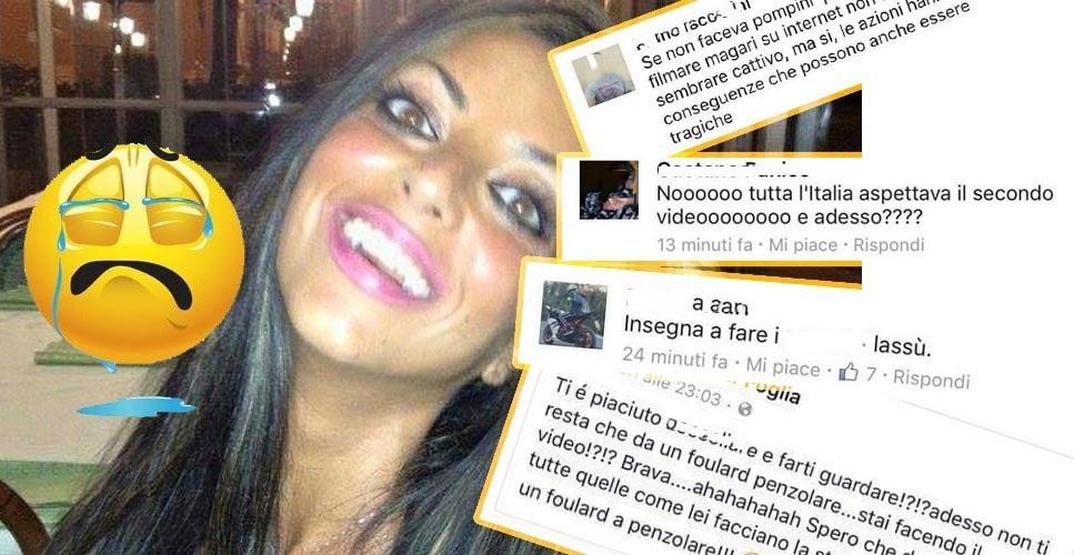 Il caso Tiziana Cantone, i social network e la web reputation