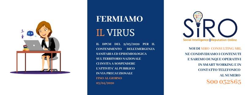 Fermiamo il virus!