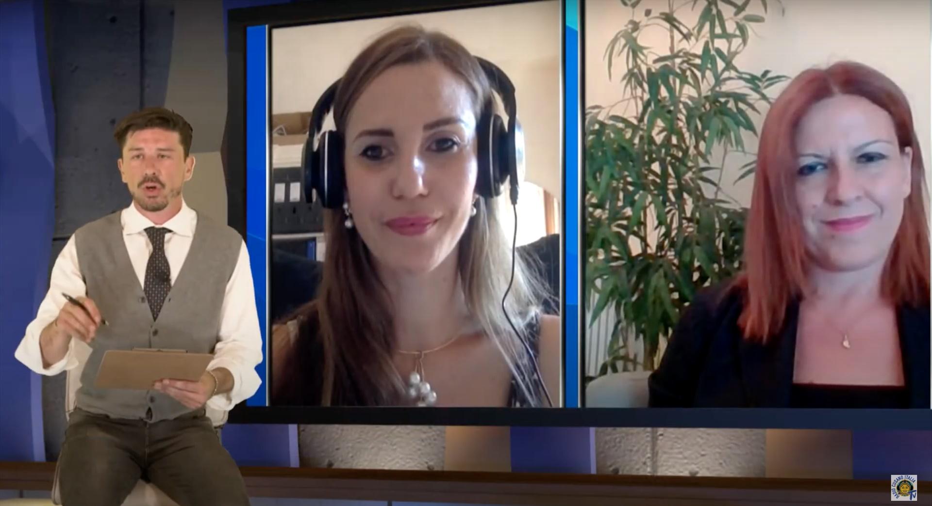 L'intervento della Dr.ssa Petrozzi a Cusano Italia TV