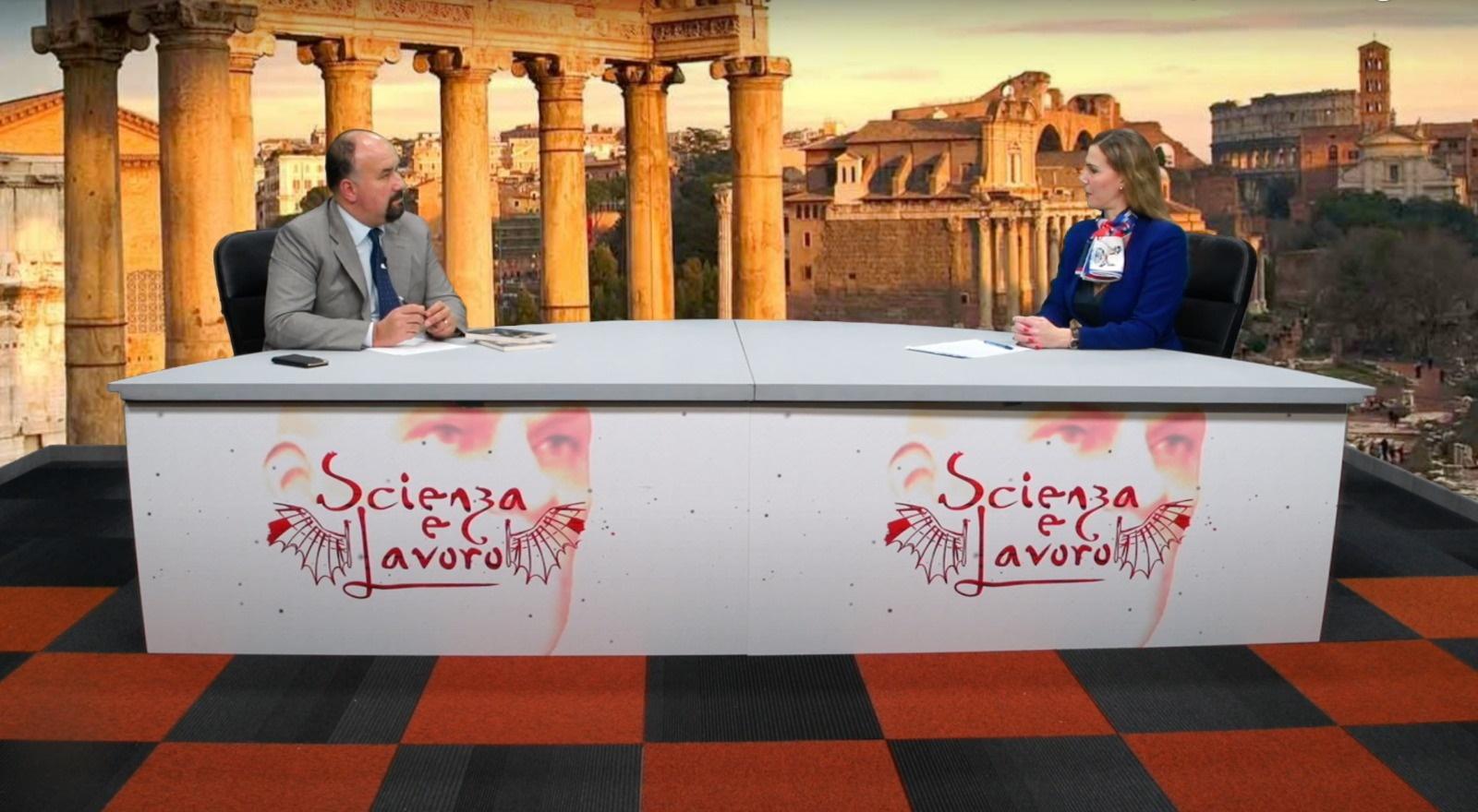 L'intervista della Dr.ssa Petrozzi a Scienza e Lavoro su Teleromauno