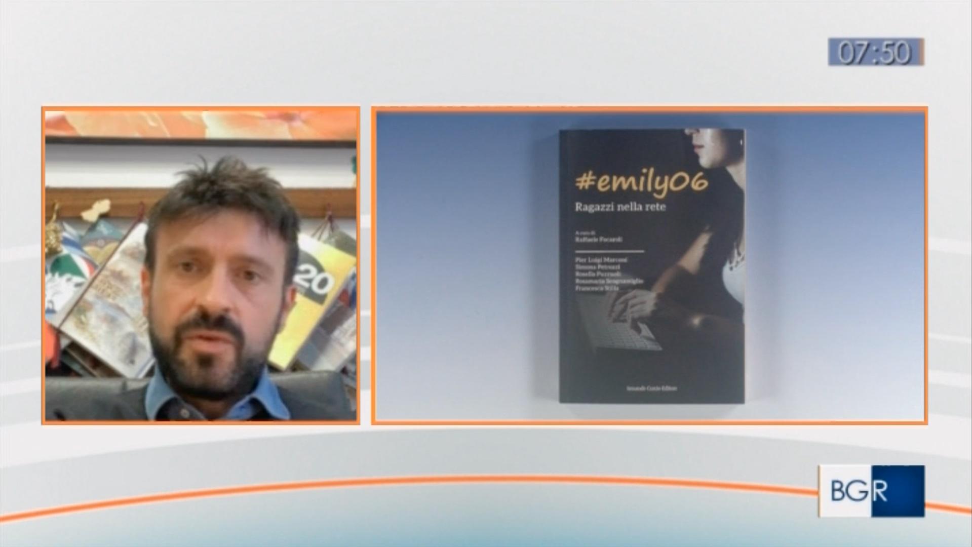 Raffale Focaroli presenta Emily06, ragazzi nella rete a Buongiorno Regione del TGR Lazio