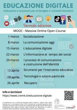 Educazione digitale: Cremit-Cei, dall'1 marzo torna il corso gratuito di approfondimento
