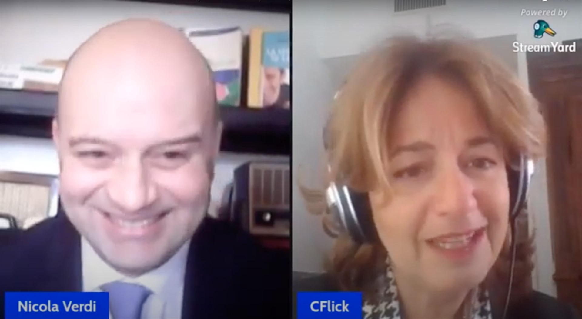 L'Avv.ta Caterina Flick intervistata da Nicola Verdi sul mondo digitale e della privacy
